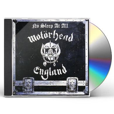 Motorhead NO SLEEP AT ALL CD
