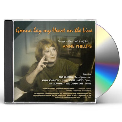 Anne Phillips GONNA LAY MY HEART ON THE LINE CD