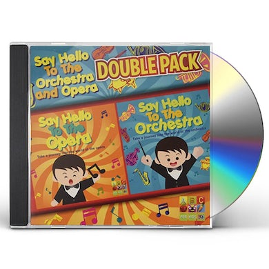 Sesame Street SAY HELLO TO THE ORCHESTRA & OPERA CD