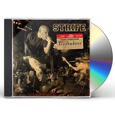 Strife LIVE AT THE TROUBADOUR CD