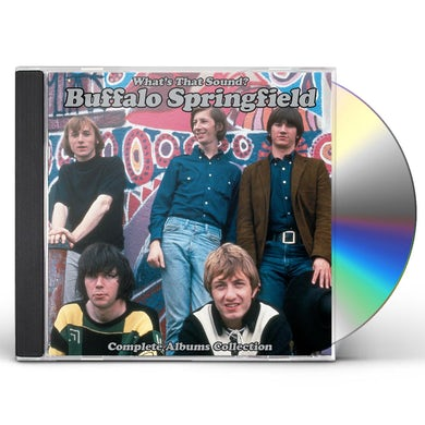 Buffalo Springfield WHAT'S THAT SOUND - COMPLETE ALBUMS COLLECTION CD