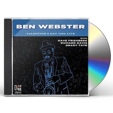 Ben Webster VALENTINE'S DAY 1964 LIVE CD