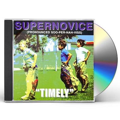 Supernovice TIMELY CD