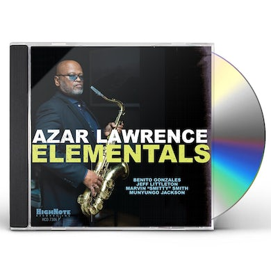 Azar Lawrence ELEMENTALS CD
