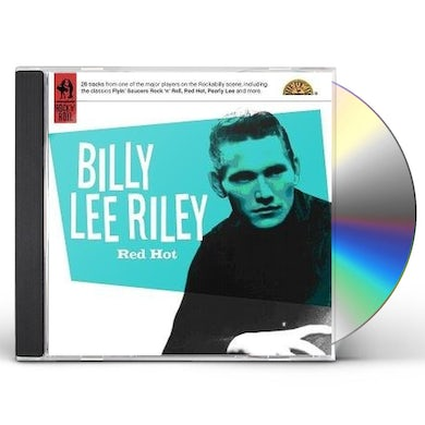 Billy Lee Riley RED HOT CD