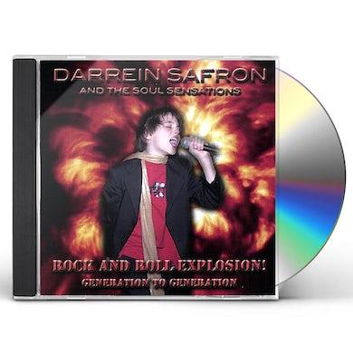 Darrein Safron ROCK & ROLL EXPLOSION CD