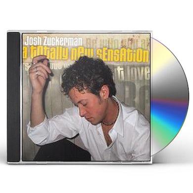 Josh Zuckerman TOTALLY NEW SENSATION CD