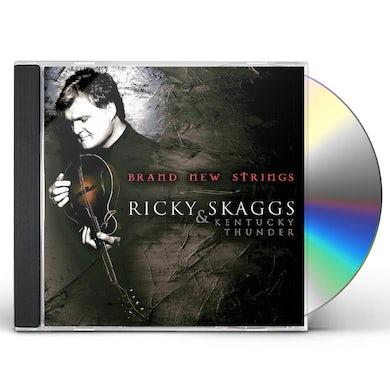Ricky Skaggs BRAND NEW STRINGS CD