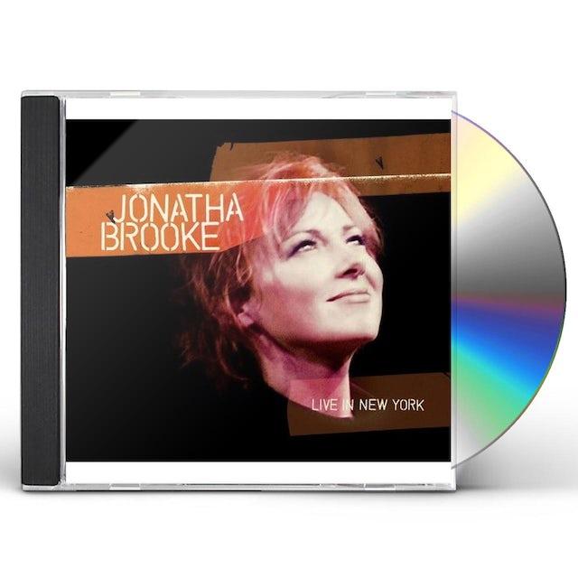 Jonatha Brooke LIVE IN NEW YORK CD