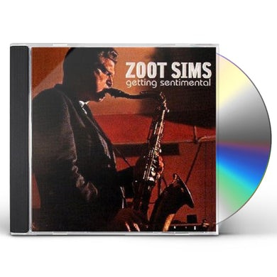Zoot Sims GETTING SENTIMENTAL CD