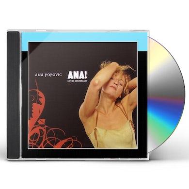 Ana Popovic ANA: LIVE IN AMSTERDAM CD