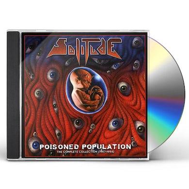 Solitude POISONED POPULATION CD