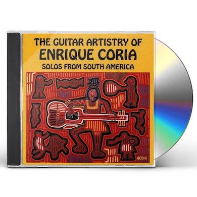 Enrique Coria GUITAR ARTISTRY OF CD
