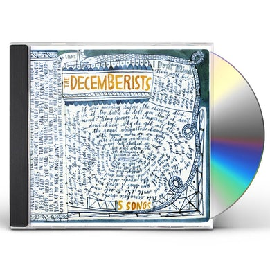 The Decemberists 5 SONGS CD
