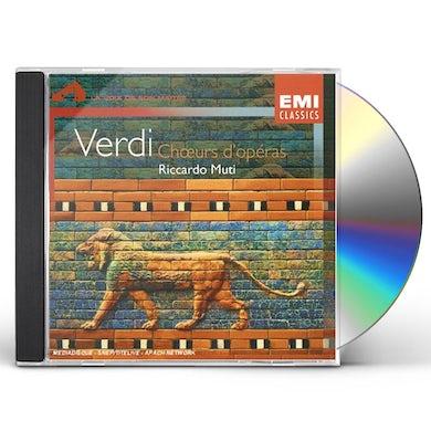 Verdi CHOEURS D'OPERAS - CHOEUR ET ORCH DE LA SCALA CD