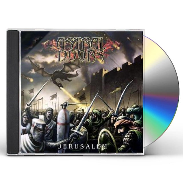 Astral Doors JERUSALEM CD