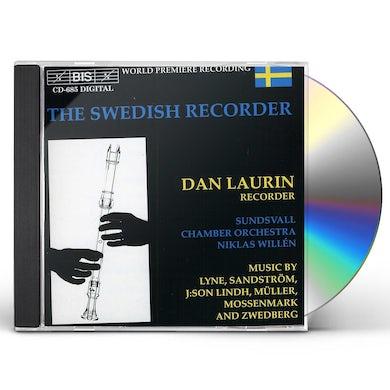 Dan Laurin SWEDISH RECORDER CD