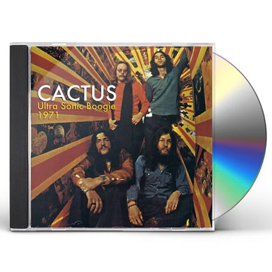 Cactus ULTRA SONIC BOOGIE: LIVE 1971 CD