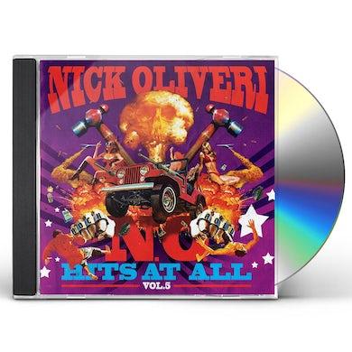 Nick Oliveri N.O. HITS AT ALL 5 CD