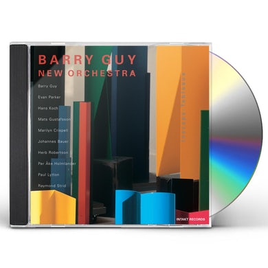 Barry Guy INSCAPE: TABLEAUX CD