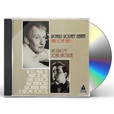 Richard Rodney Bennett TAKE LOVE EASY CD