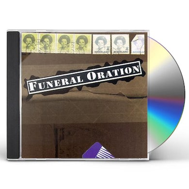 FUNERAL ORATION CD