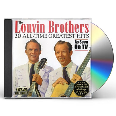 Louvin Brothers 20 ALL TIME GREATEST HITS CD