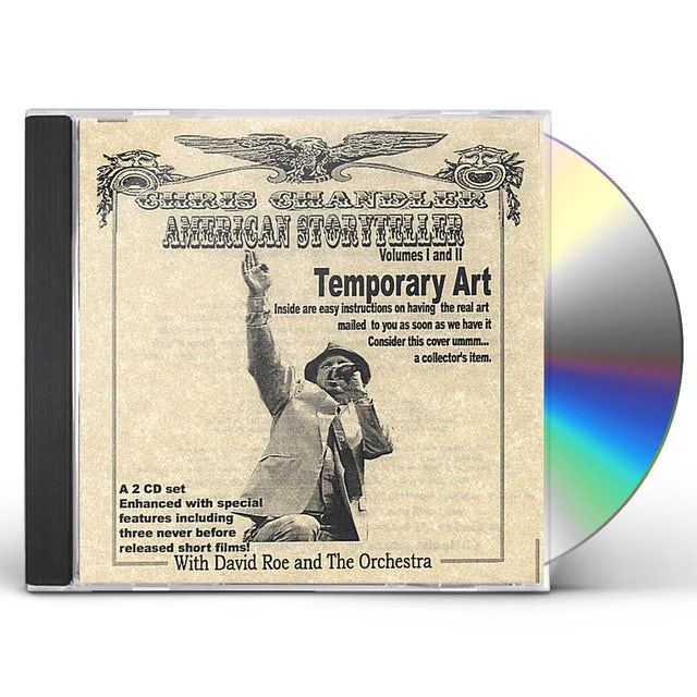 Chris Chandler AMERICAN STORYTELLER CD