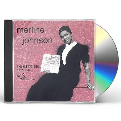Merline Johnson YAS YAS GIRL 1937-1947 CD