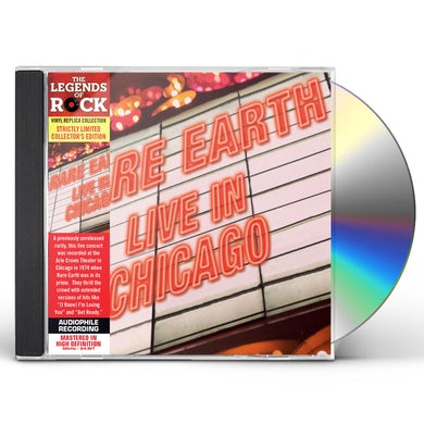 Rare Earth LIVE IN CHICAGO CD