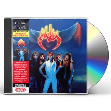 Helix LONG WAY TO HEAVEN CD
