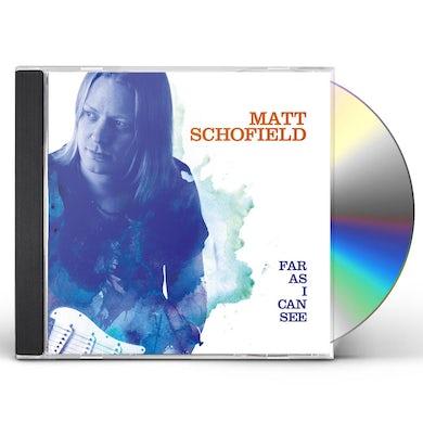 Matt Schofield FAR AS I CAN SEE CD