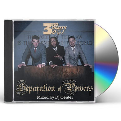 3rd Party SEPARATION OF POWERS CD