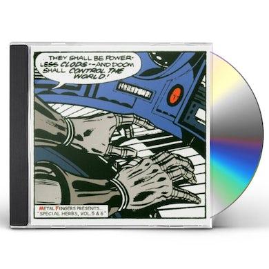 MF DOOM SPECIAL HERBS 5 & 6 CD