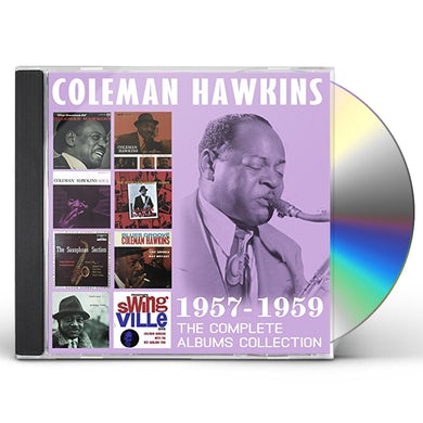 Coleman Hawkins COMPLETE ALBUMS COLLECTION: 1957-1959 CD