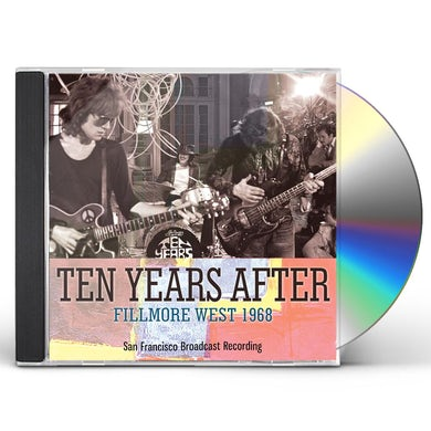 Ten Years After FILLMORE WEST 1968 CD
