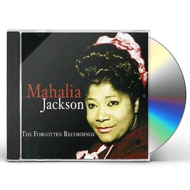 Mahalia Jackson FORGOTTEN RECORDINGS CD