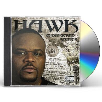 Hawk ENDANGERED SPECIES CD