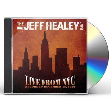 Jeff Healey LIVE AT THE BOTTOM LINE CD