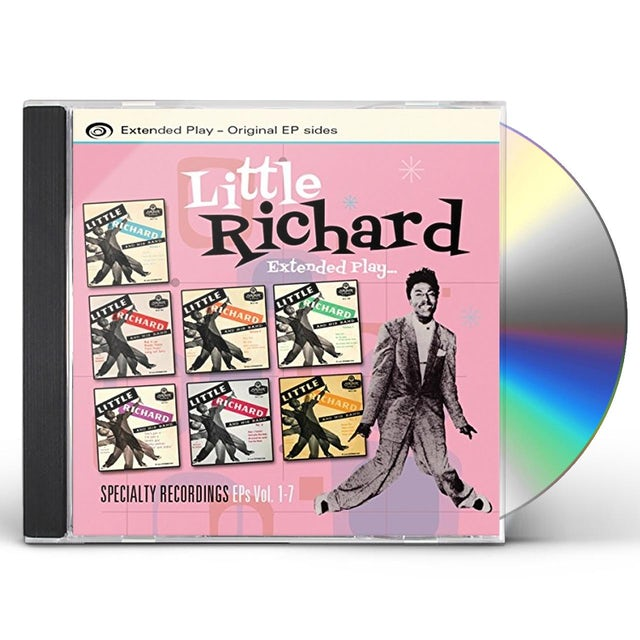 Little Richard SPECIALTY RECORDINGS EP'S VOL. 1-7 CD