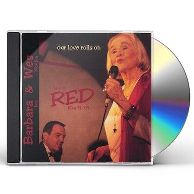 Barbara Lea OUR LOVE ROLLS ON CD