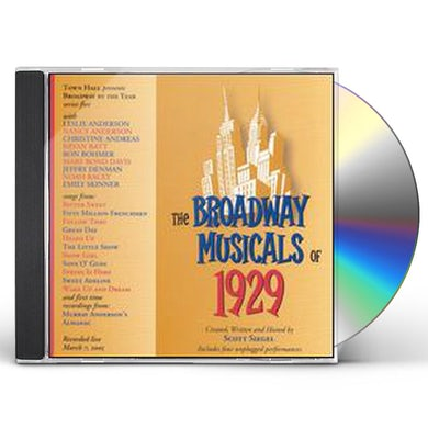 Original Cast  BROADWAY MUSICALS OF 1929 CD