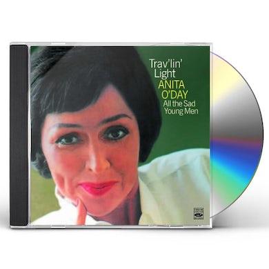 Anita O'Day TRAV'LIN LIGHT / ALL THE SAD YOUNG MEN CD