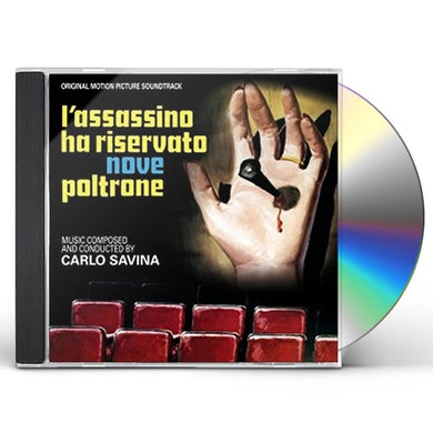 Carlo Savina L'ASSASSINO HA RISERVATO NOVE POLTR / Original Soundtrack CD