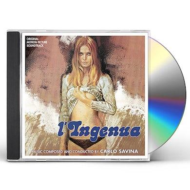 Carlo Savina L'INGENUA & L'OSCENO DESIDERIO / Original Soundtrack CD