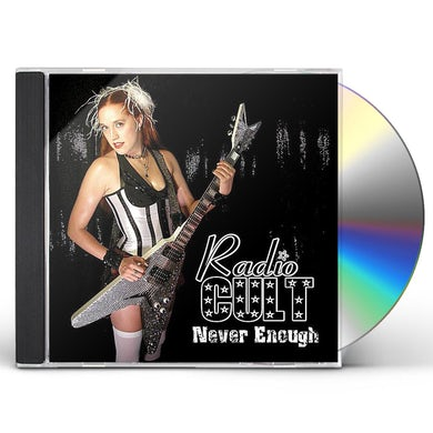 Radio Cult NEVER ENOUGH CD