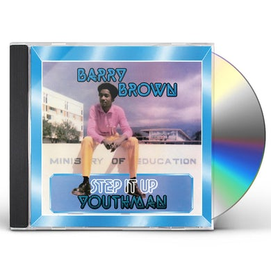 Barry Brown STEP IT UP YOUTHMAN CD