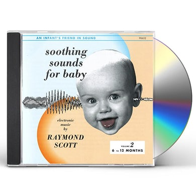 Raymond Scott SOOTHING SOUNDS FOR BABY 2 CD