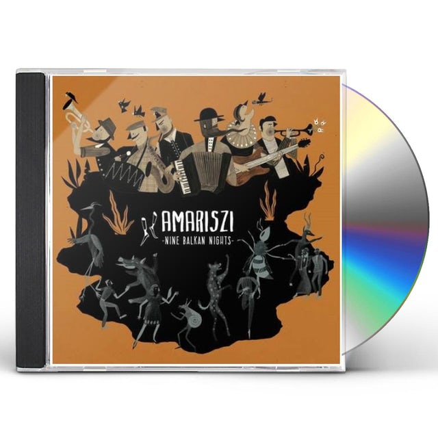 Amariszi NINE BALKAN NIGHTS CD