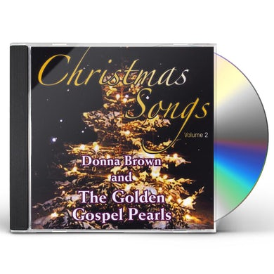 Donna Brown & The Golden Gospel Pearls CHRISTMAS SONGS VOL. 2 CD